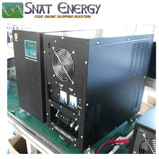 6000W 5kw Low frequency off grid pure sine wave inverter with LCD display and AC charger function