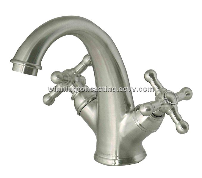 Classic Stainless Steel Faucet Made Of Stainless Steel 304 Applied To  Bathroom Basin