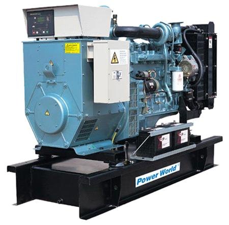 Cummins Series 1200GF KVA Open Type Diesel Generator Sets,