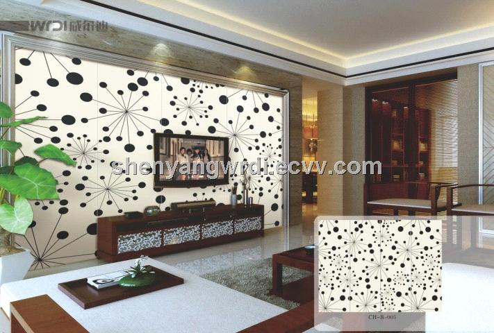 Flower Painting Mdf Board For Tv Background Wall