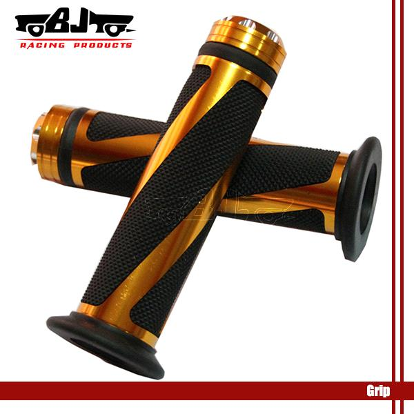 High Quality 22MM BLACK & Golden motorcycle handle grips For Honda Yamaha Suzuki DIRT ATV