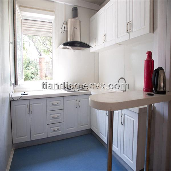 Kitchen Type Container House for Sales