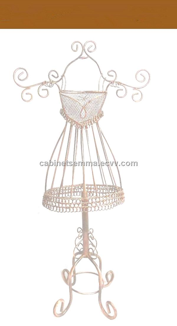 wrought iron mannequin jewelry holder style guru