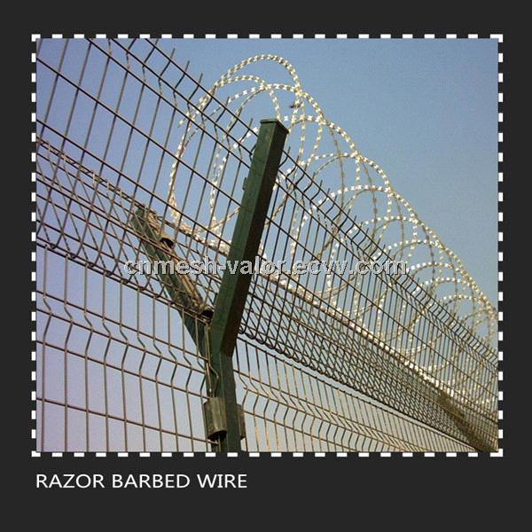 Razor Barbed Wire (Stainless Steel/Low Carbon Steel)