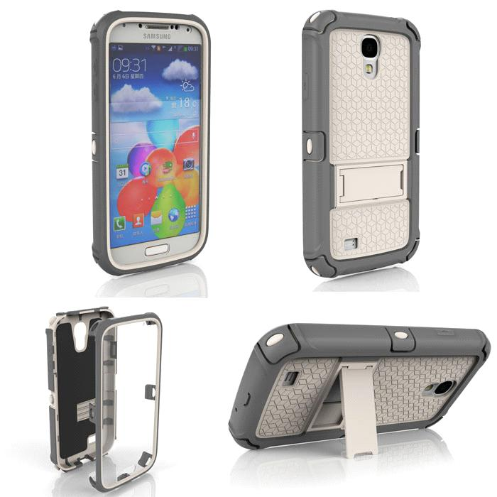 info for 082a2 fed01 Saturn Series Case with Kickstand for Samsung Galaxy S4 i9500 (GS4)