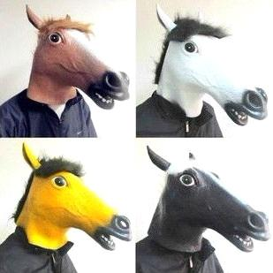 horse mask halloween mask party mask animal mask