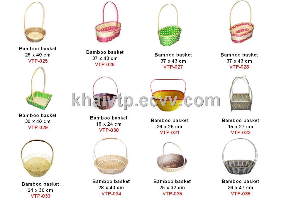 vietnam natural bamboo basket from Vietnam Manufacturer