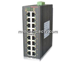 MIE-1016 16-Port 100M Industrial Ethernet Switches