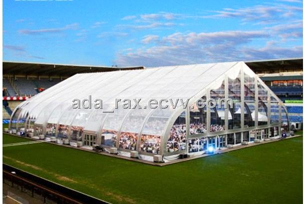 Aluminum TentsTFS Curve Tent For Event With Transparent PVC Tent & Aluminum TentsTFS Curve Tent For Event With Transparent PVC Tent ...