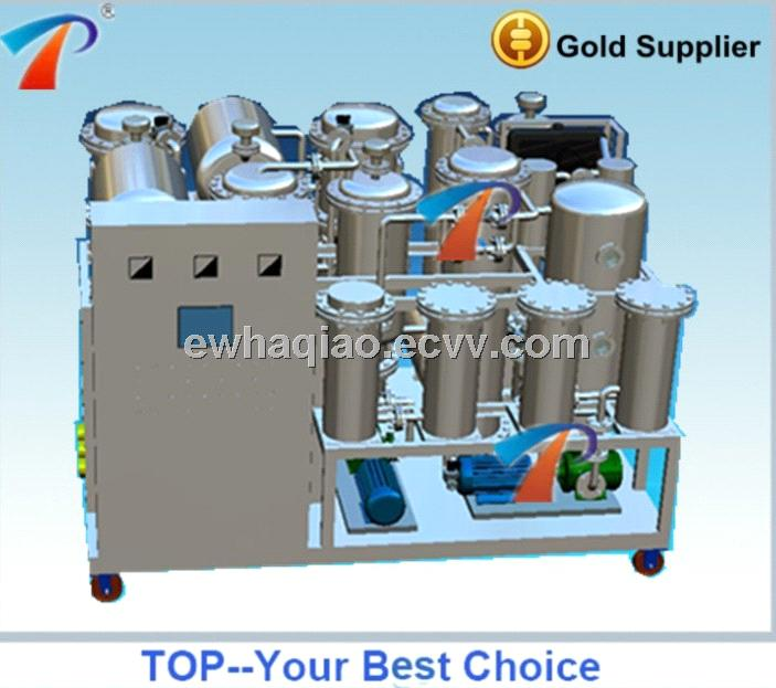 Black engine lube oil recycling plant with morden advanced technology, compact design, no clay