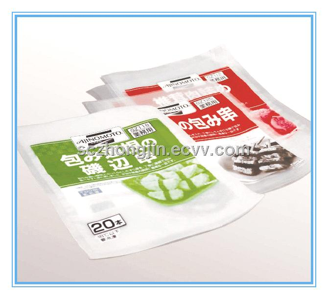 Doypack bags for food and medicine packaging