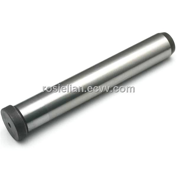Heat treated induction hardening straight guide pins for plastic molds
