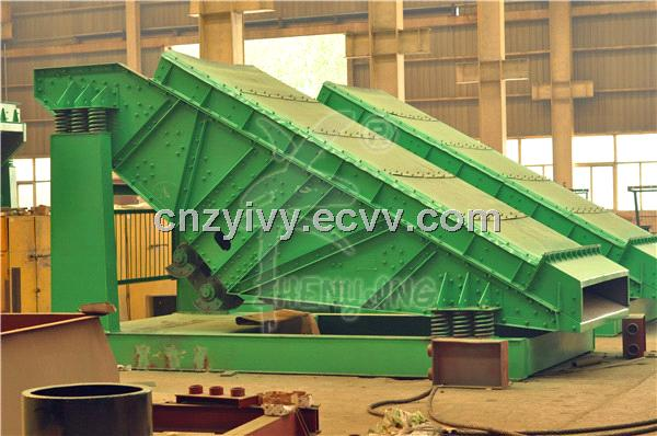 Heavy vibration screen for mining industry