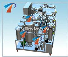 Mineral motor oil recycling plant with newly advanced technology, less power consumption