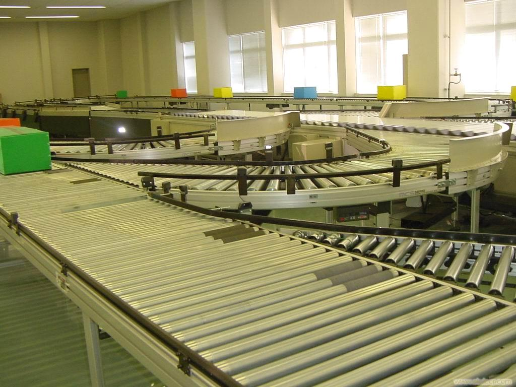 Powered roller conveyor-Powered roller conveyor features
