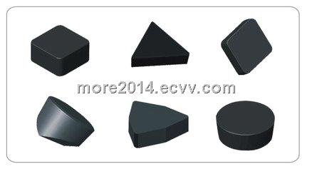 Solid PCBN inserts (Polycrystalline Cubic Boron Nitride inserts)
