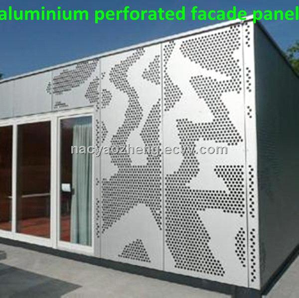 Aluminium Perforated Facade Panel Purchasing Souring