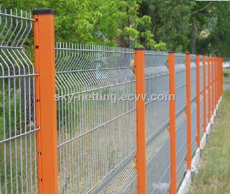 Triangle Bending Fence Used for Corporation/Hotel