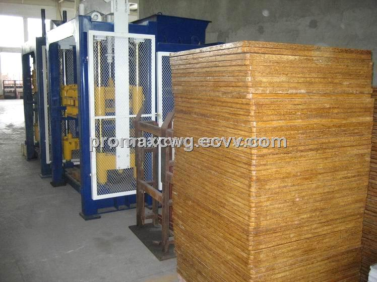 Bamboo pallet for brick machine,concrete block machine,bamboo plywood