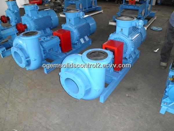 Drilling mud centrifugal pump in oil field