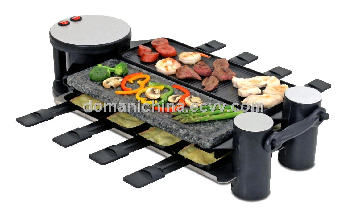 new swiss raclette bbq grill drg 058 a purchasing souring agent purchasing service. Black Bedroom Furniture Sets. Home Design Ideas