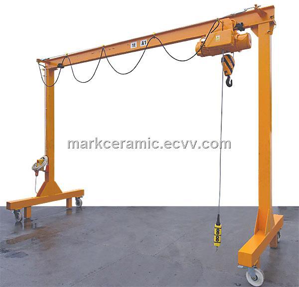025--10T Mini Gantry crane/small gantry crane