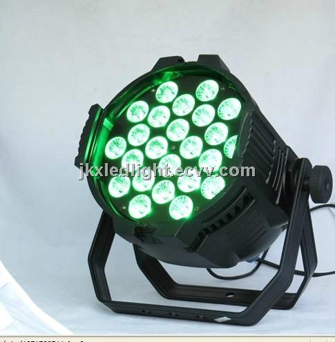 24pcs *18W RGBWAP 6in1 LED PAR stage light, LED PAR64,Indoor led light