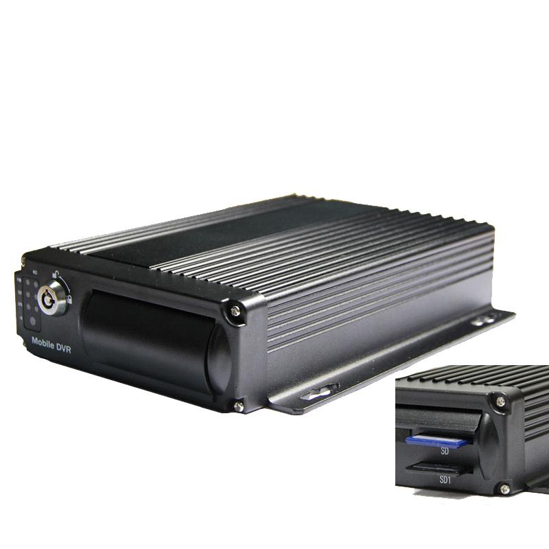 4 Channel Mobile DVR,H.264 Vehical DVR, Bus DVR,Car Security Monitor,Support Dual SD up to 128G
