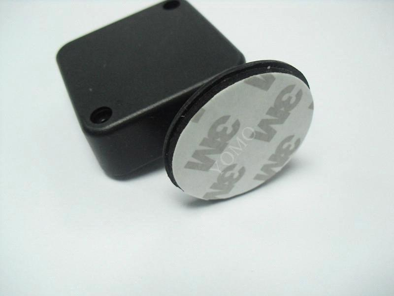 Anti-Theft Pull Box with Round Disk End,Loss Prevention Recoiler,sample protector