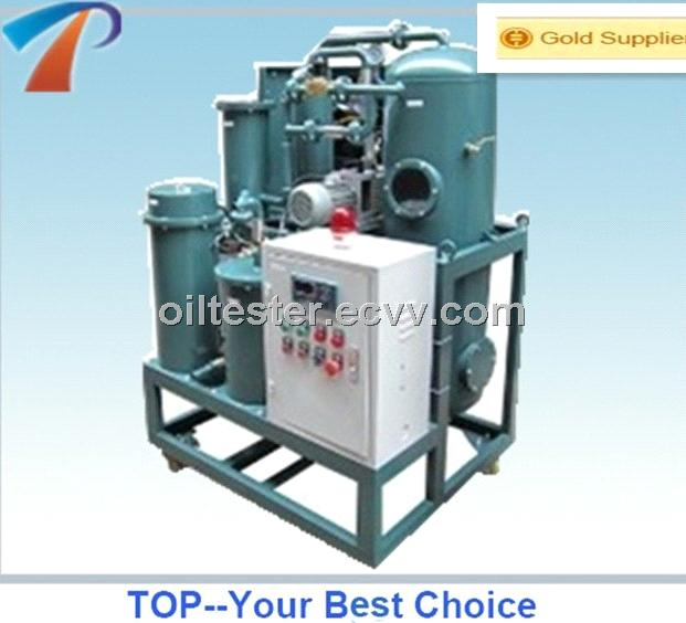 High Voltage insulation oil treatment plant for vacuum oiling,low processing cost,energy saving