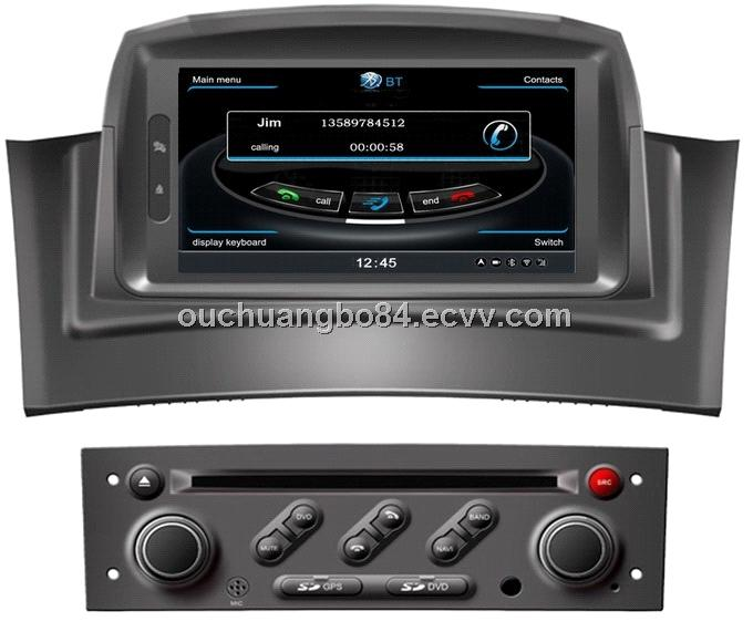 Ouchuangbo automotive GPS navigation for Renault Megane II 2002-2008