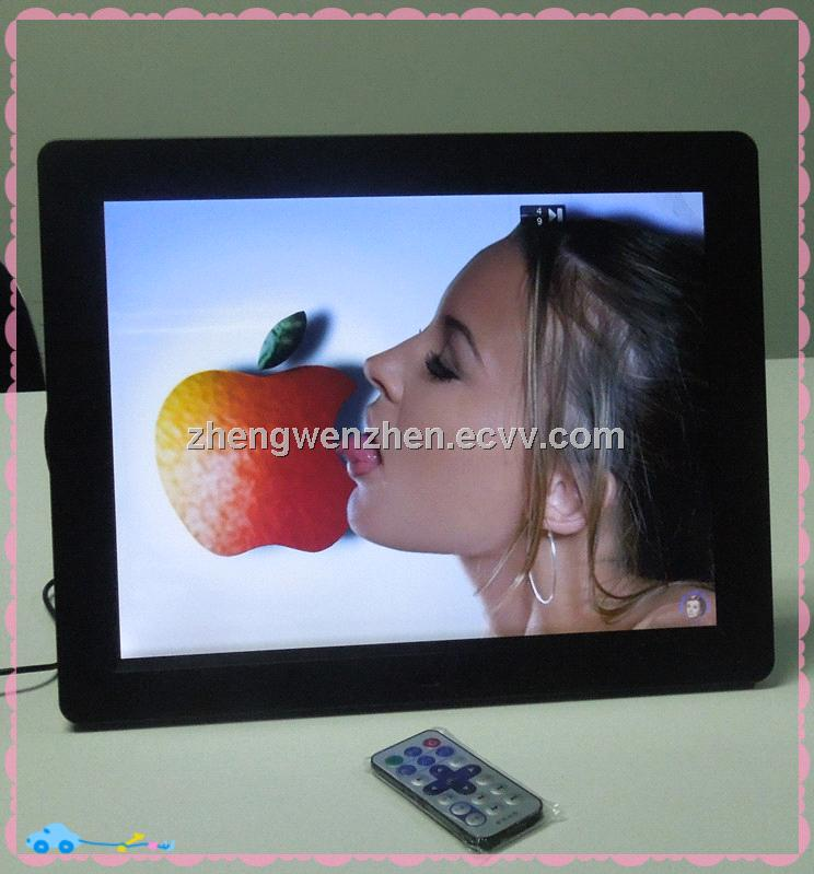 top manufacturer ! cheapest 15 inch digital photo frame with HD mirror 4:3 photo video loop JSC-1501