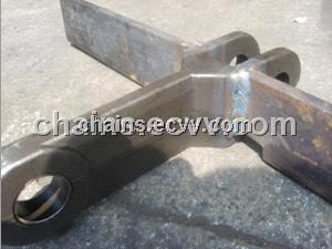 Forged Scraper Conveyor Chain with Welded Flight from China