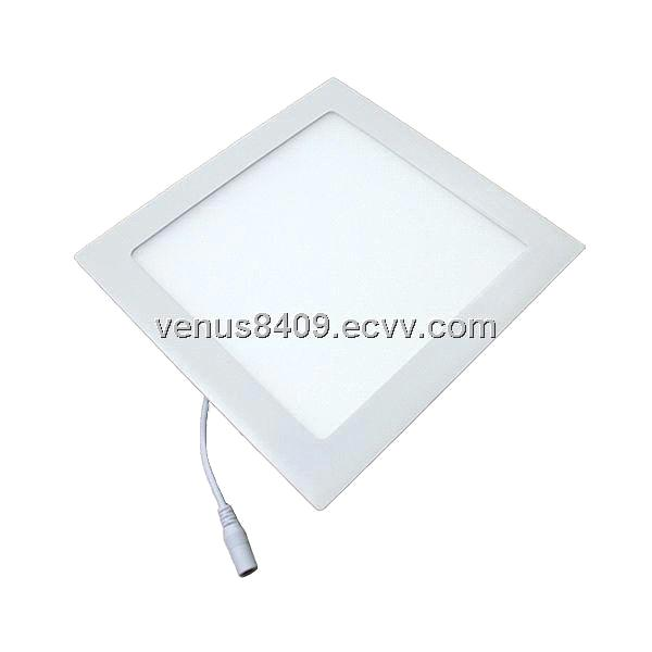 High quality no dark spots square 6W LED panel downlight