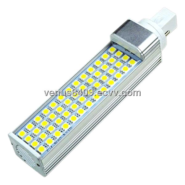 SMD5050 G24 10W LED PL Lamp