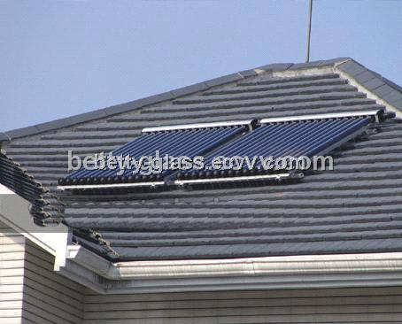 Split Solar Collector with Super-Heat Pipe Simple Family Solar System Swimming Pool Solar System