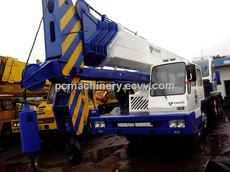 Used Truck Crane Tadano 55T GT550E For Sale