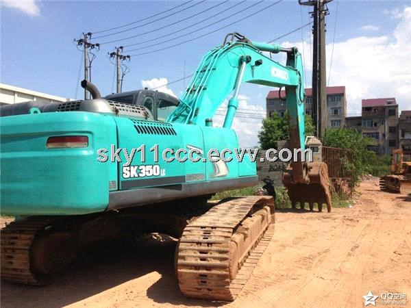 Used original Kobelco SK350-8 Excavator made in japan