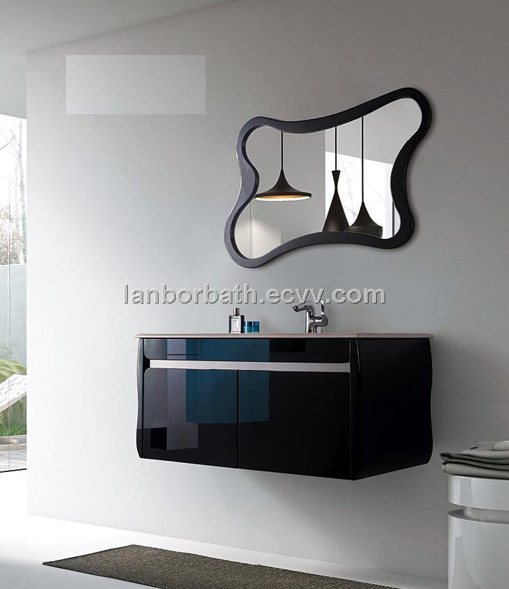 Inch Solid Wood Bathroom Vanity Cabinet Matched With Mirror - 39 bathroom vanity cabinet