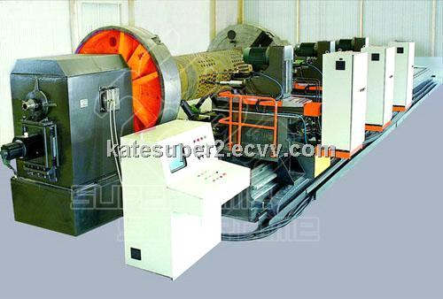 CNC drilling machine for boiler drum