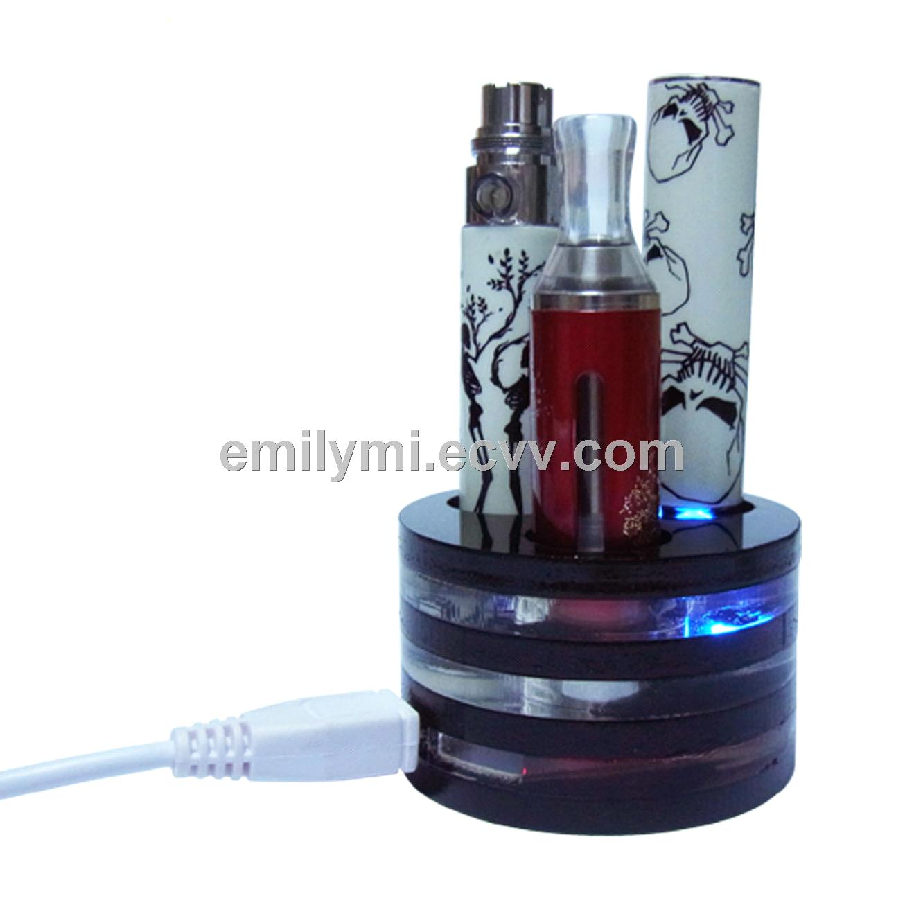 China 2014 new hot gift product vape tray charger, metal charger for ego ce4 e cigarette
