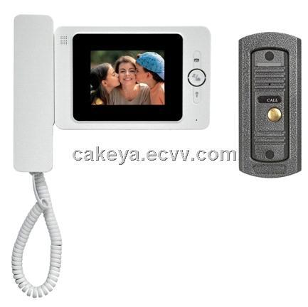China Door Camera Jeja Jinyjia 4inch Handset Color Video Door Phone