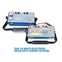 DUK-2A 4p borehole electric esistivity system metal detecting