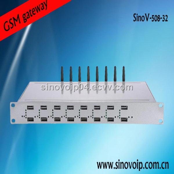 GSM dvb ip gateway pri sip gateway 32 sim cards