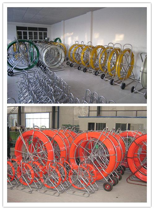 HDPE duct rod,Reels for continuous duct rods,Pipe traker traceable midi  duct rodder