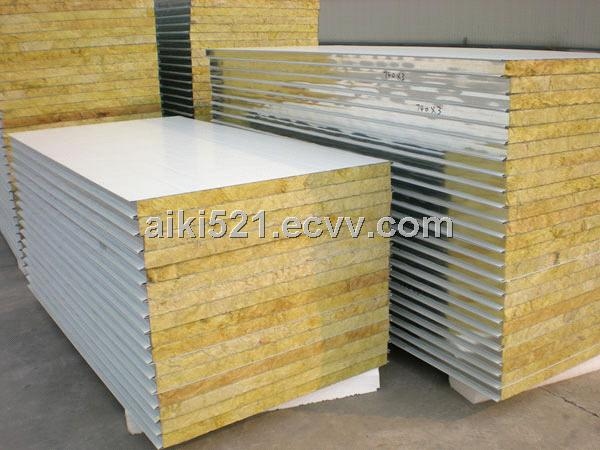 Metal Rock Wool Sandwich Roof Panel Wall Panel Rockwool Panel From China Manufacturer Manufactory Factory And Supplier On Ecvv Com