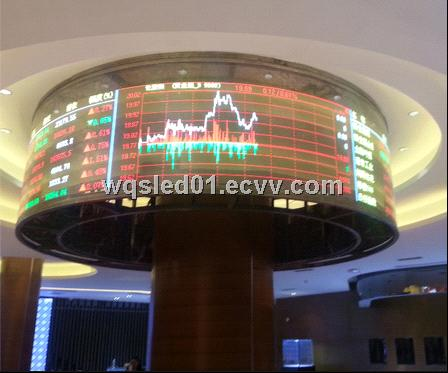 P4 RGB CIRCULAR LED DISPLAY