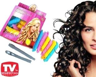 Rapid Changing Hair Curlers Magic Curler Circle Rollers Tool As Seen On Tv Diy