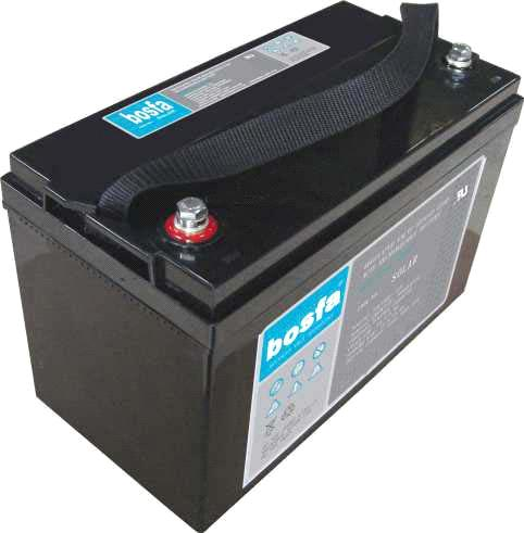 SOLAR12-100 deep cycle battery for solar system