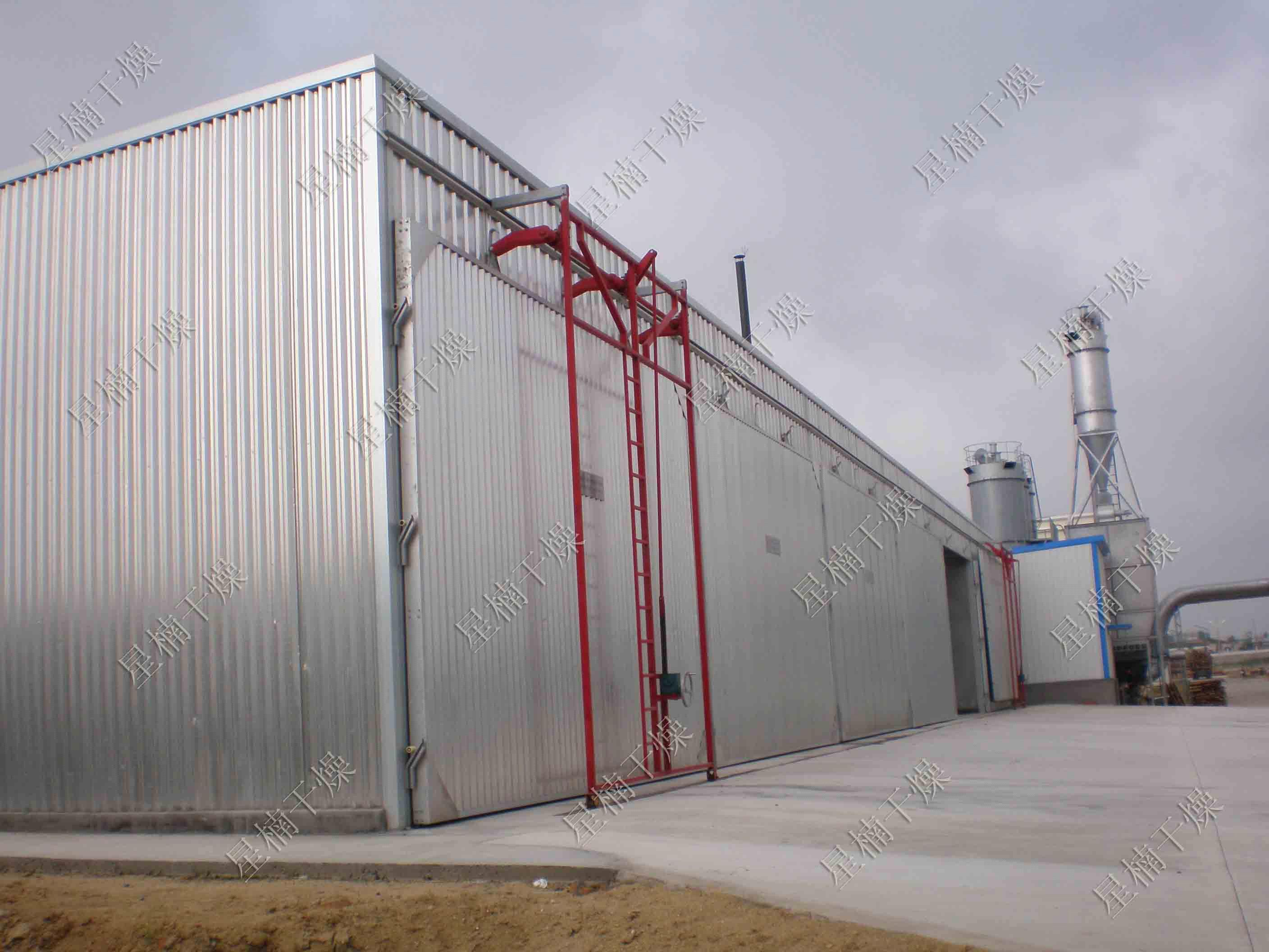 Timber drying equipment
